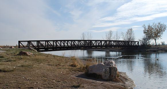 Main Bridge at Jensen Nature Park