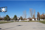 Basketball court at Canterbury Park